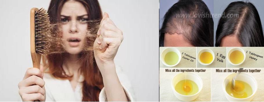 masque pour la perte de cheveux