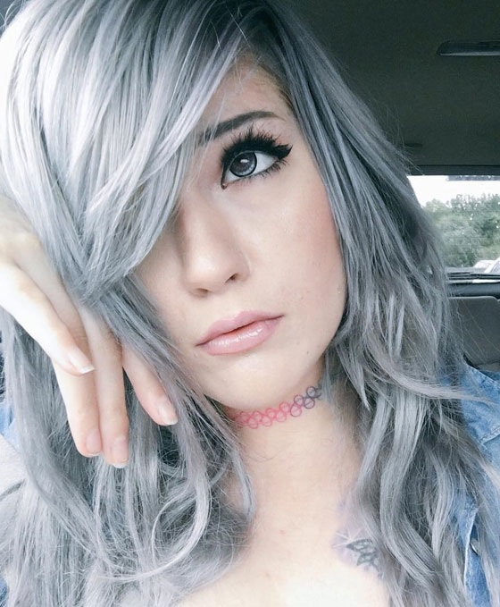 how to get smokey grey hair