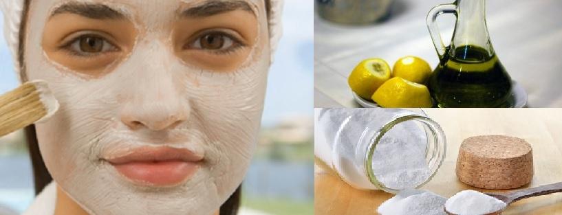 Blanchissant les masques pour la personne du bronzage