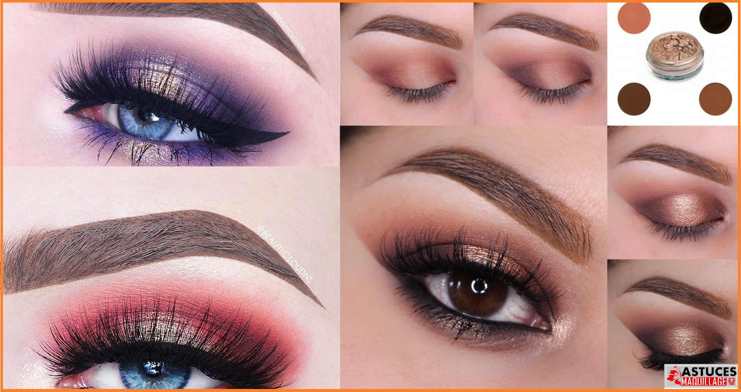 Chaud ou pas maquillage halo eye astuces maquillage - Ou trouver rangement maquillage ...