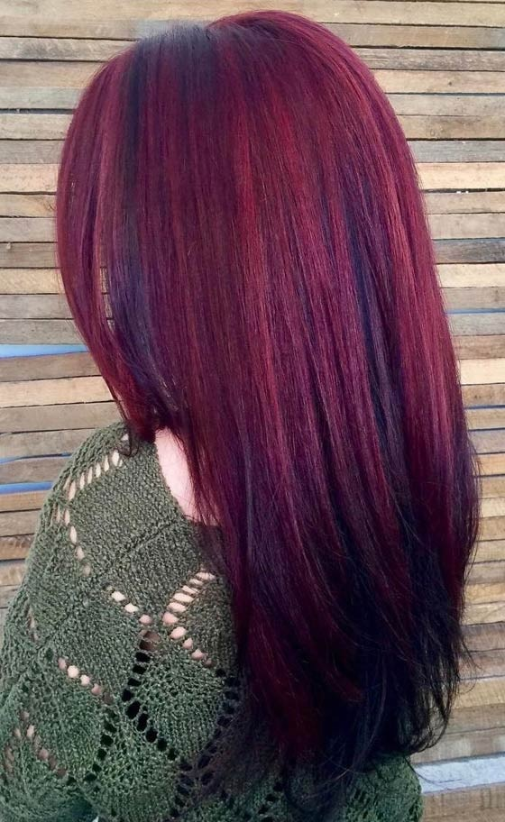 Des Id 233 Es Magiques De Couleur Des Cheveux En Acajou