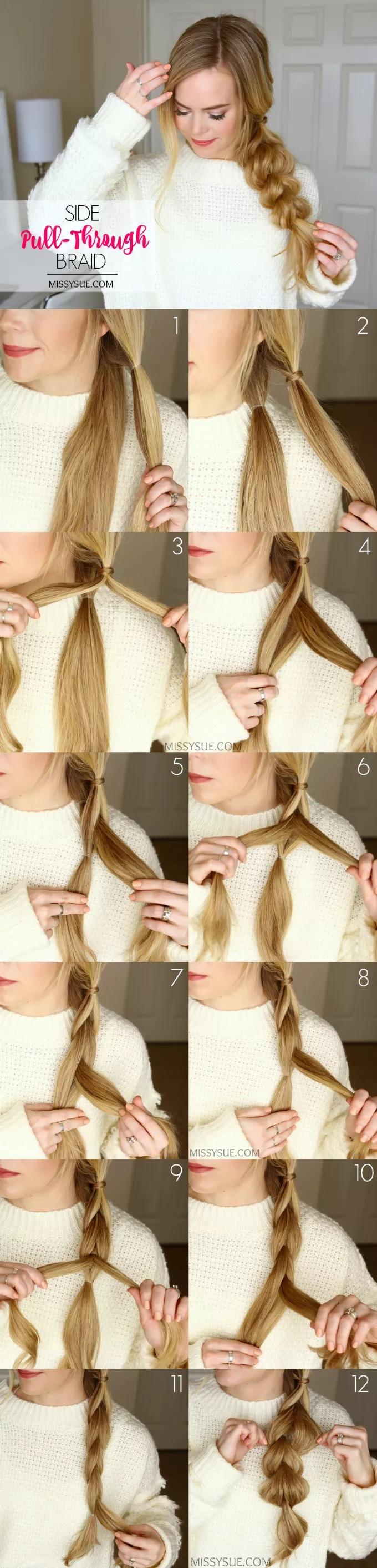 15 Coiffures Faciles Pour Les Cheveux Longs Vous Pouvez Les Faire A